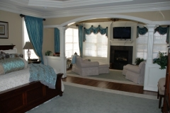 Pic of a Custom Bedroom Design by R & K