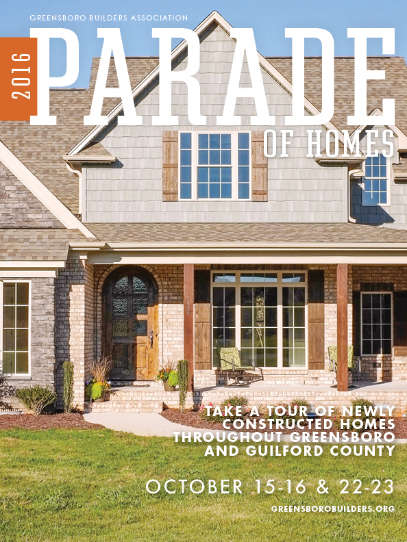 Photo of Cover of Parade of Homes October 2016 Magazine