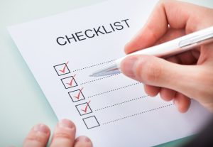 Checklist for your home builder graphic